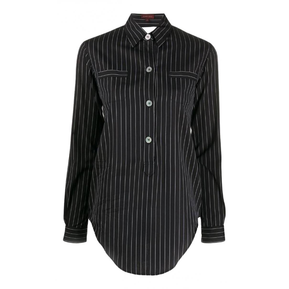 Romeo Gigli - Top   pour femme en coton - noir