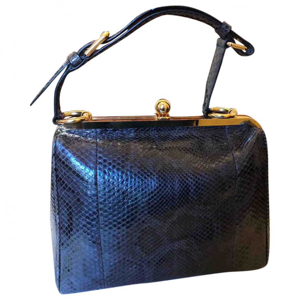 Dolce & Gabbana \N Grey Python handbag for Women \N