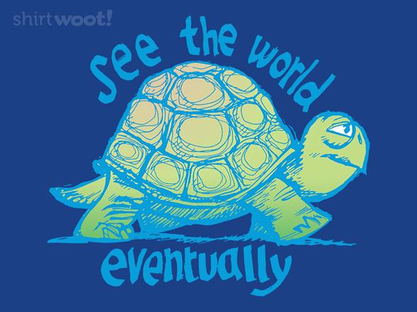 Achin' To Travel T Shirt