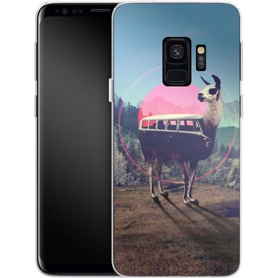 Samsung Galaxy S9 Silikon Handyhuelle - Llama von Ali Gulec
