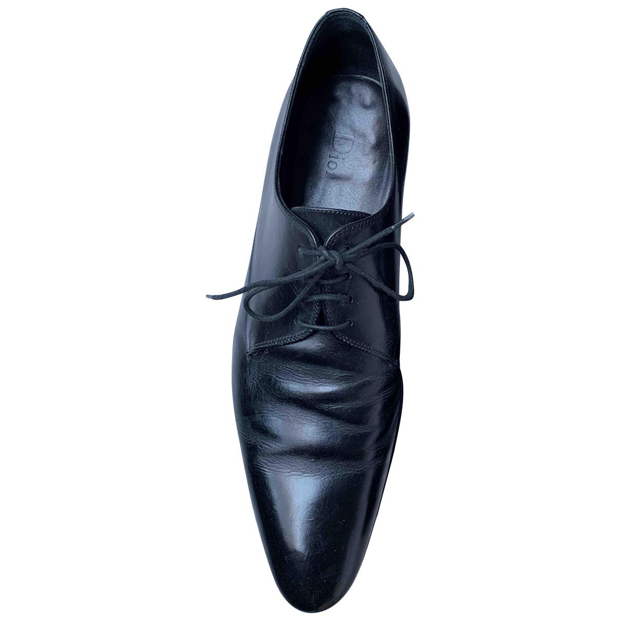 Dior Homme - Derbies   pour homme en cuir - noir