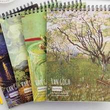 1pc Oil Painting Print Notebook