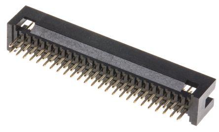 RS PRO , 50 Way, 2 Row, Straight PCB Header (17)
