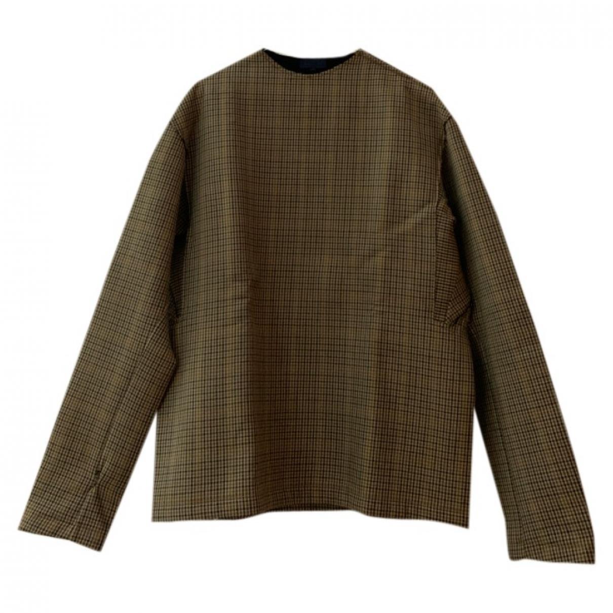 Lanvin - Vestes.Blousons   pour homme en laine - marron