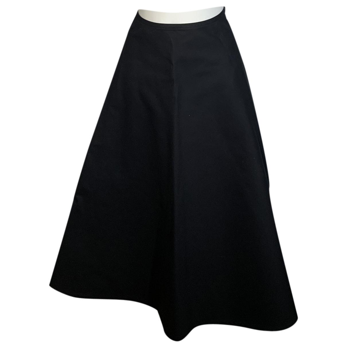 Sofie Dhoore - Jupe   pour femme en laine - noir