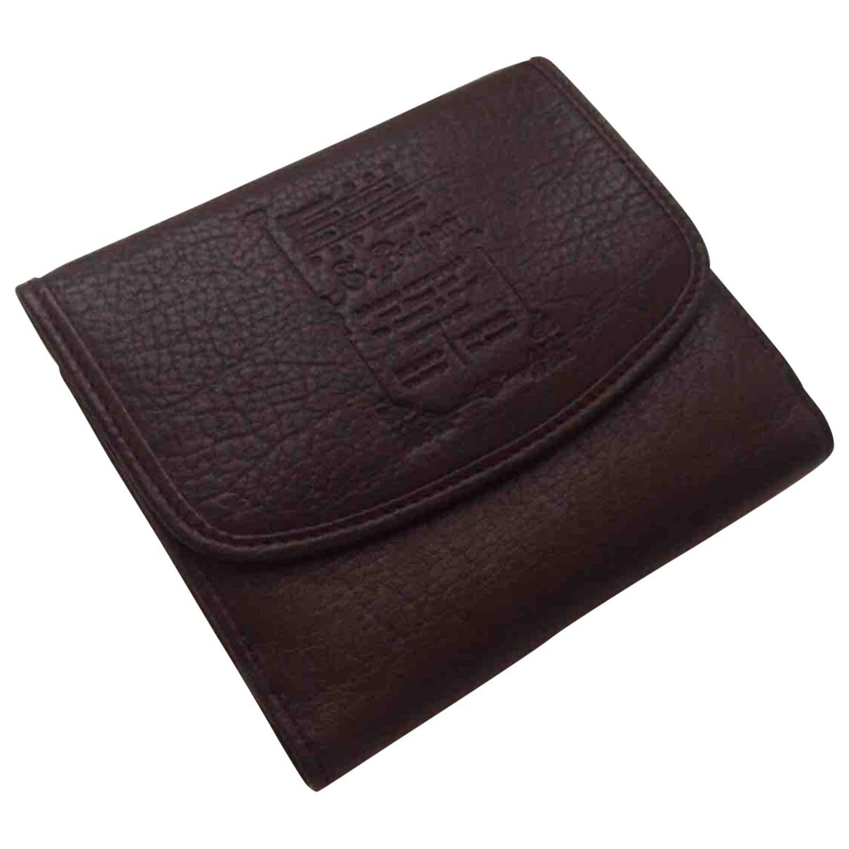 Bvlgari \N Brown Leather wallet for Women \N
