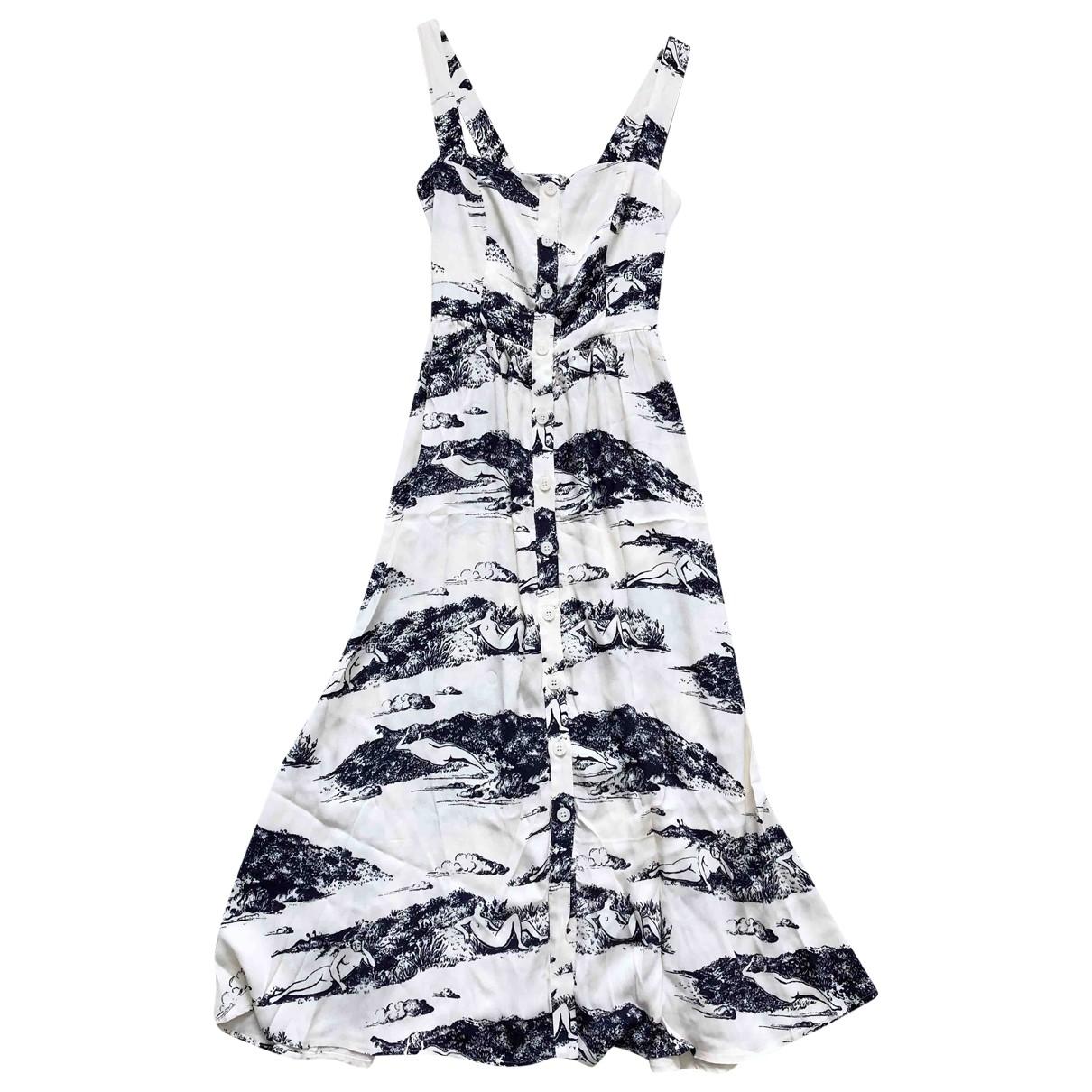 Reformation \N Ecru dress for Women 2 US