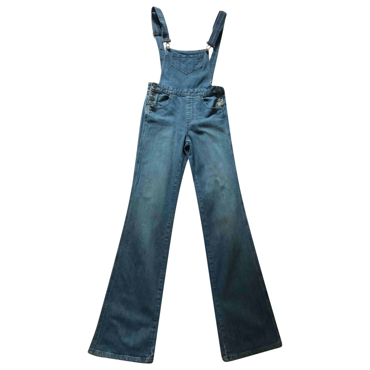 Marc By Marc Jacobs \N Jumpsuit in  Blau Denim - Jeans