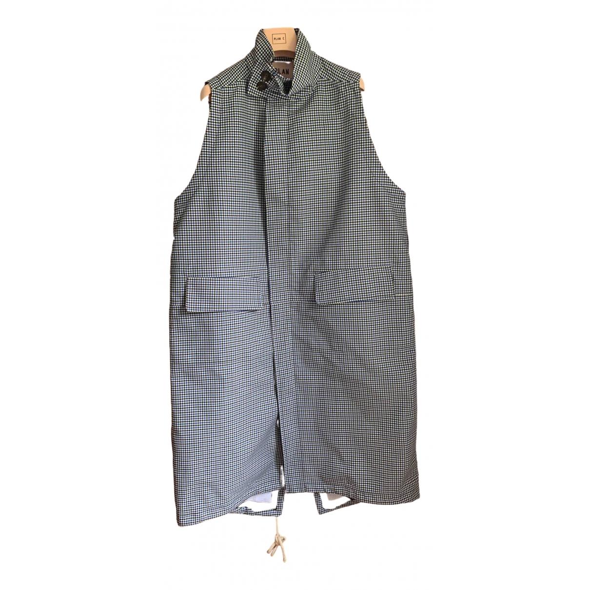 Plan C \N Multicolour Cotton jacket for Women 36 IT