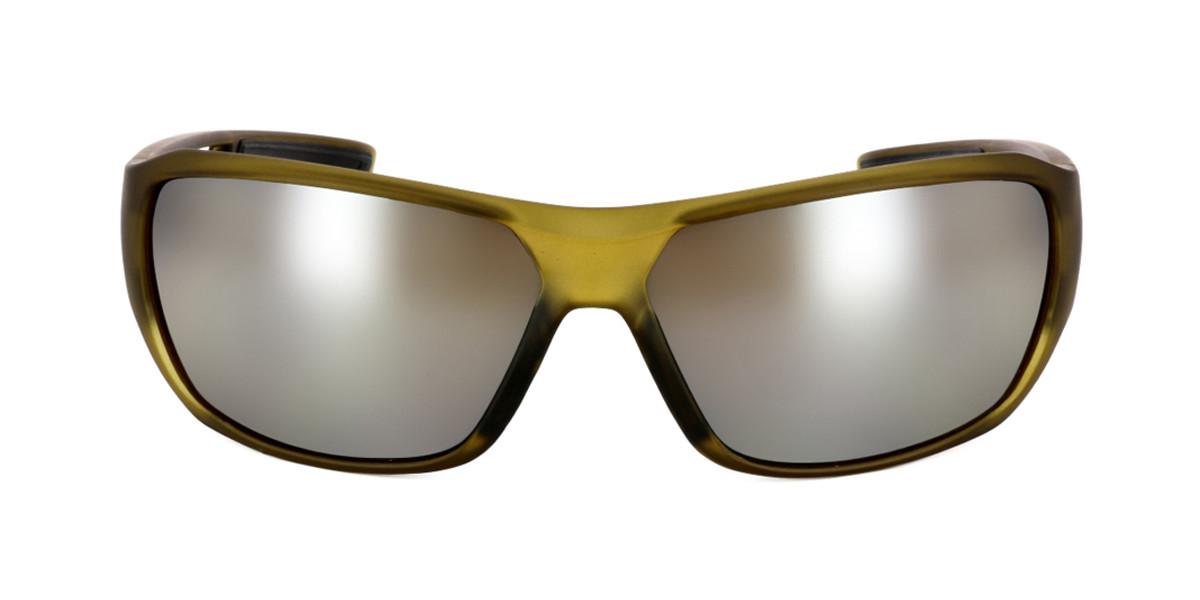 Wraparound Full Rim Plastic Mens Sunglasses Brown Size Standard - Free Lenses - HSA/FSA Insurance - SmartBuy Collection