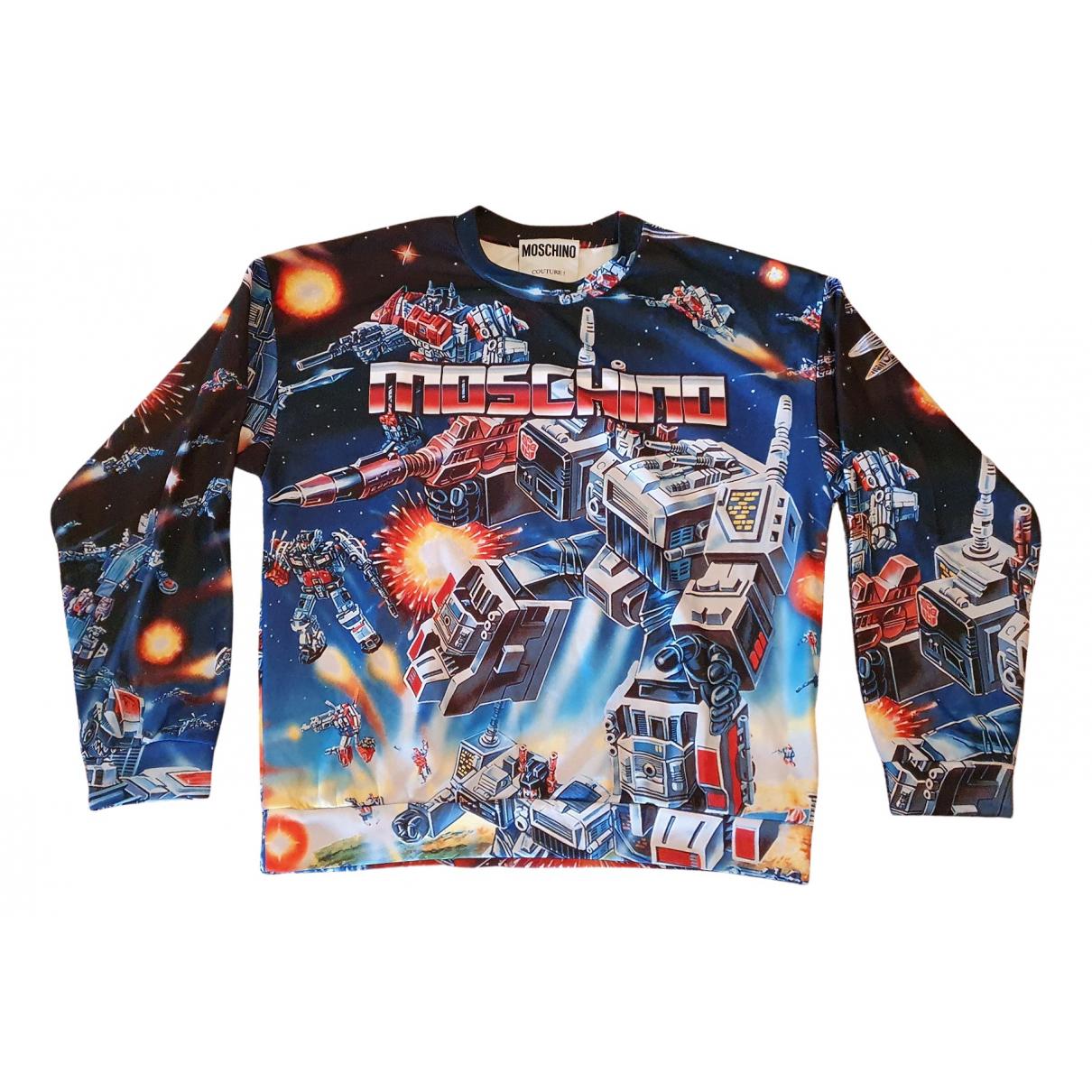 Moschino \N Pullover.Westen.Sweatshirts  in  Bunt Synthetik