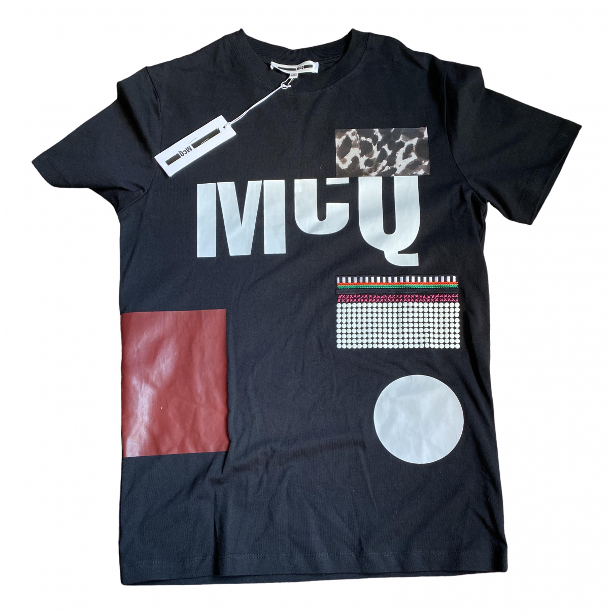 Mcq \N Black Cotton T-shirts for Men M International