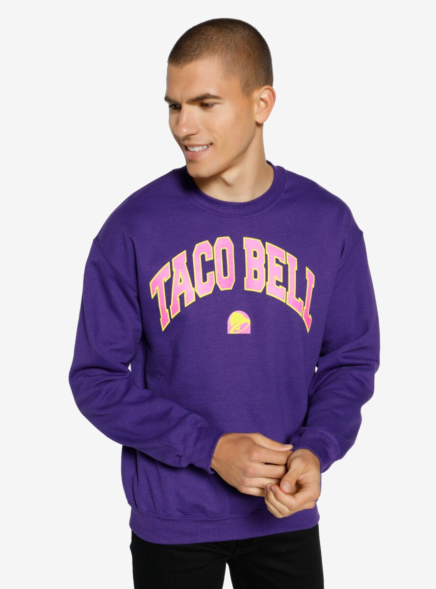 Taco Bell Purple Crewneck - BoxLunch Exclusive