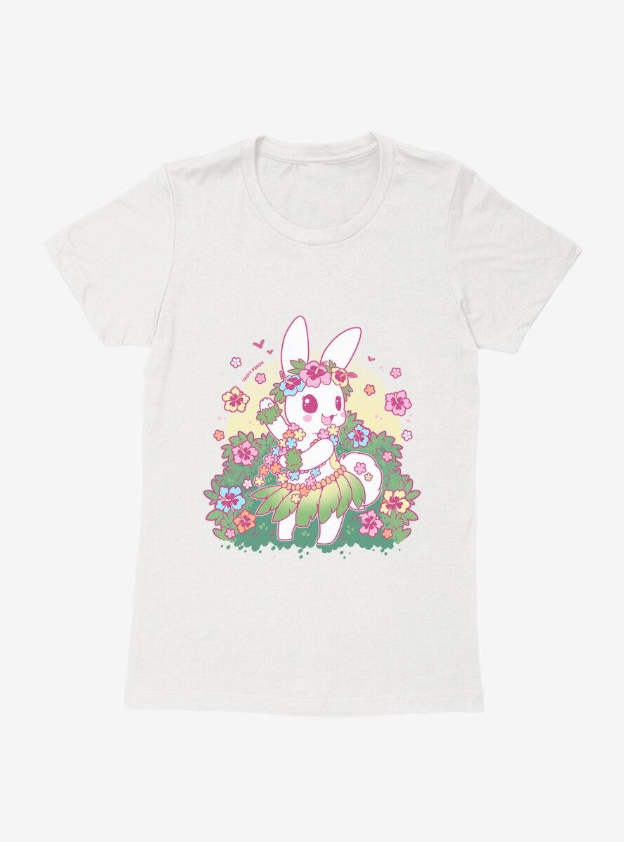 Tasty Peach Luau Tofu Womens T-Shirt