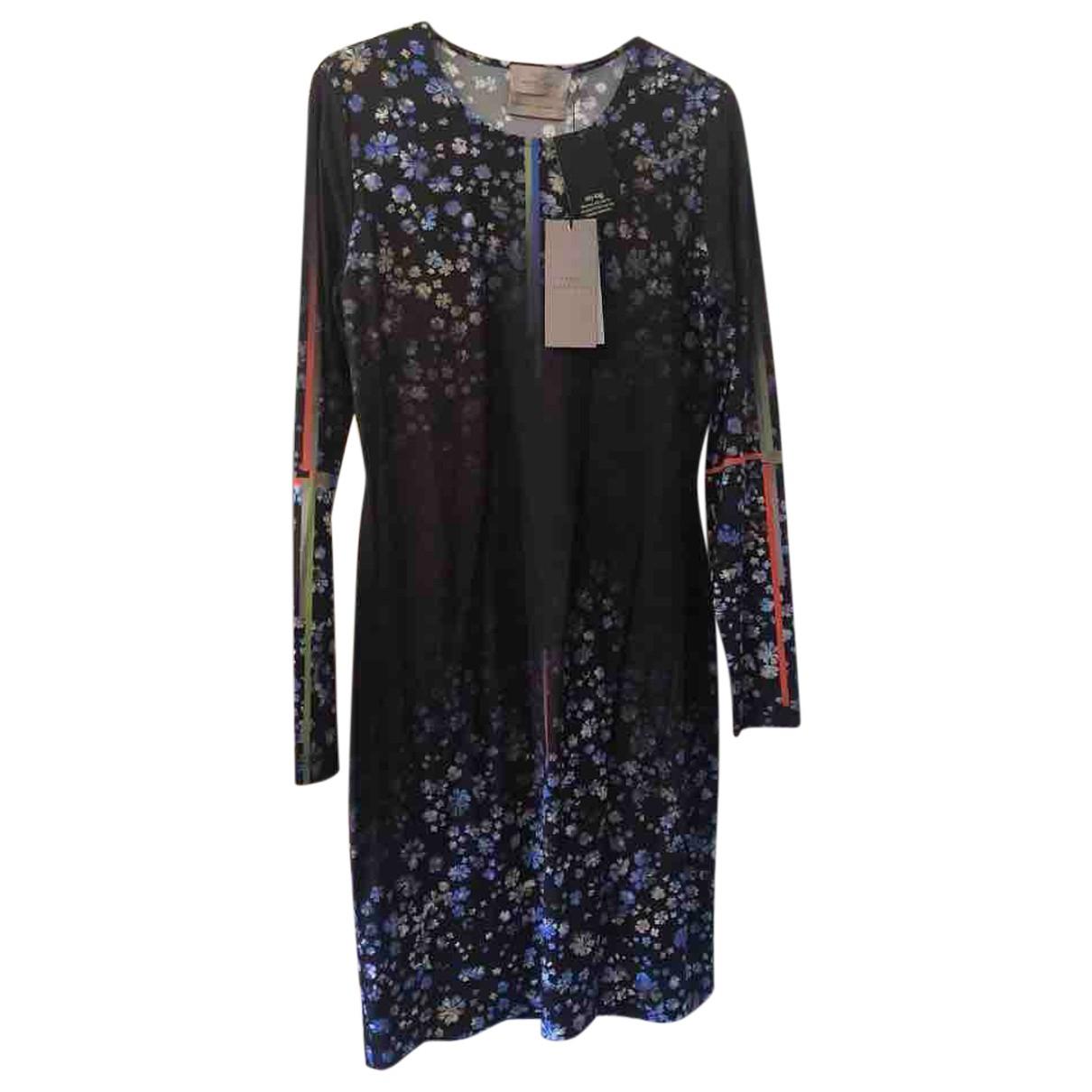 Preen By Thornton Bregazzi \N Kleid in  Blau Polyester