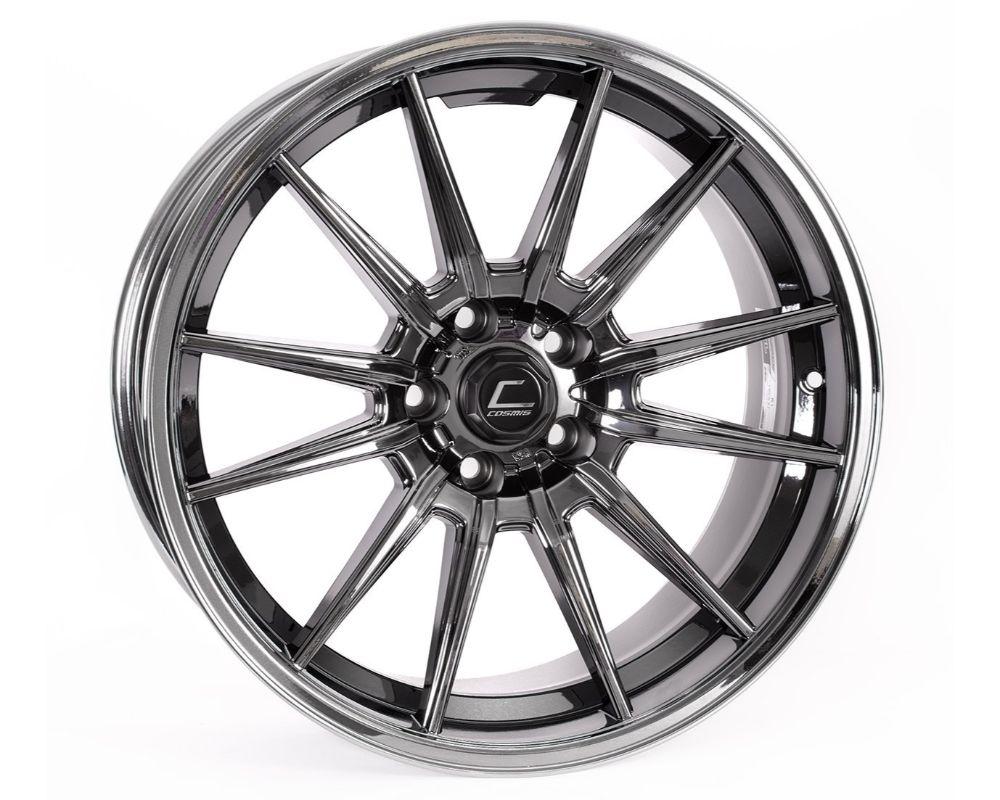 Cosmis Racing R1PRO-18105-32-5x100-BC R1 Pro Wheel 18x10.5 5x100 +32mm Black Chrome