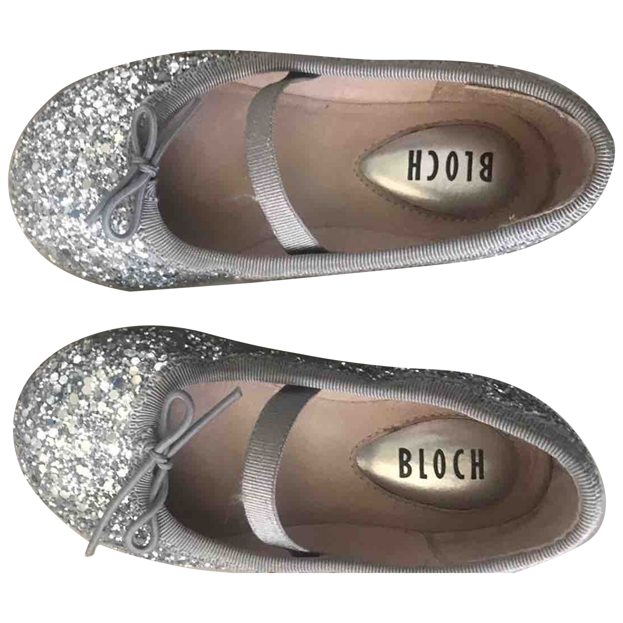 Bloch - Mocassins   pour enfant en toile - gris