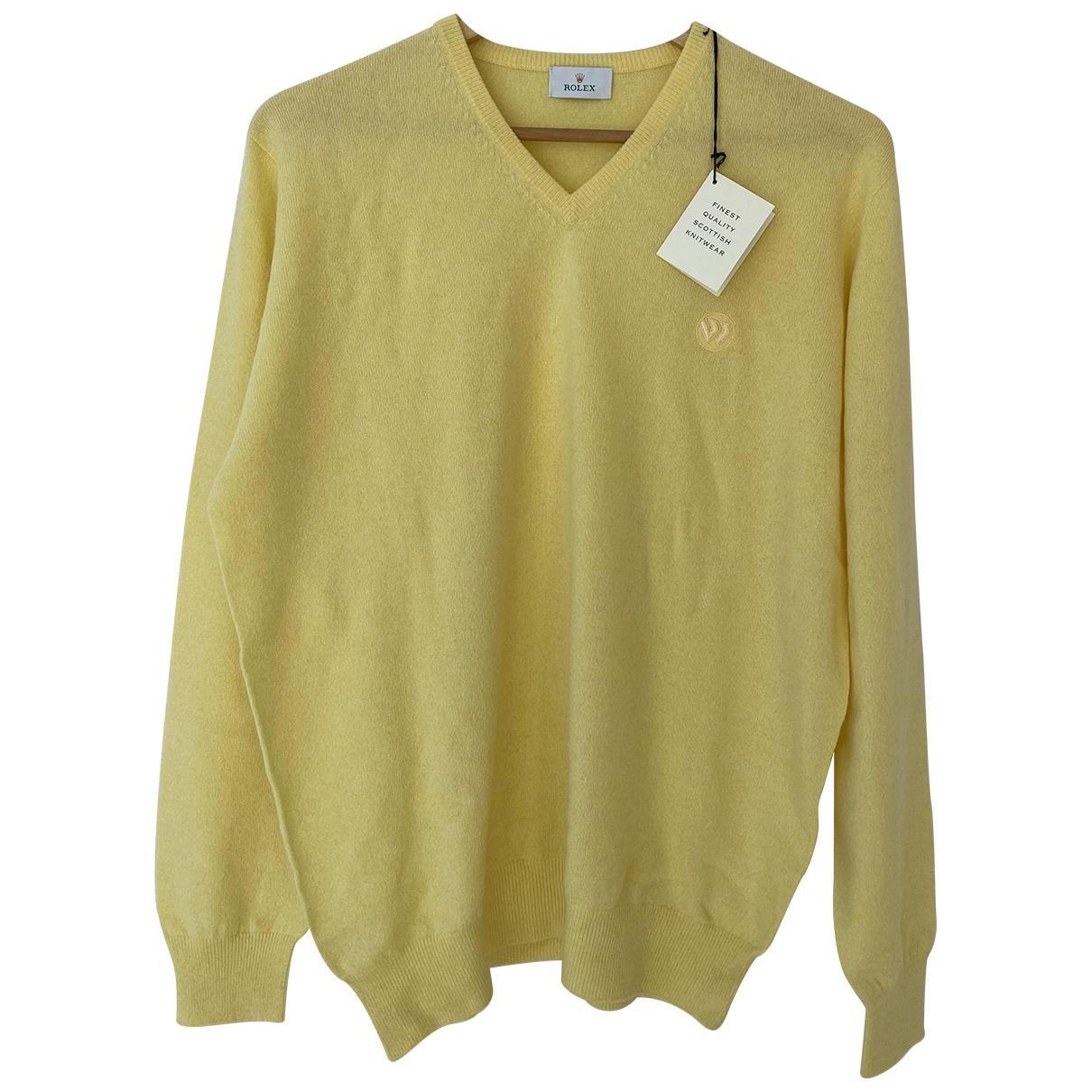Rolex \N Pullover.Westen.Sweatshirts  in  Beige Kaschmir
