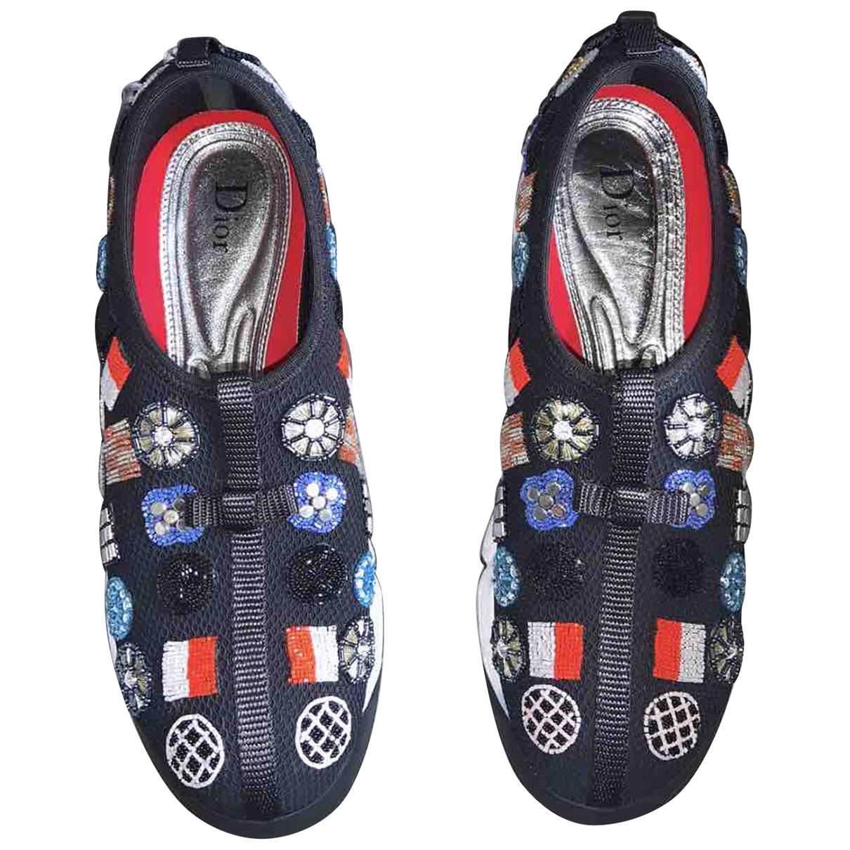 Christian Dior \N Black Rubber Trainers for Women 39 EU