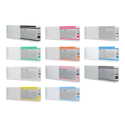Epson T636 700ml cartouche d'encre originale combo PBK/C/VM/Y/LC/VLM/LBK/MBK/LLBK/OG/GN