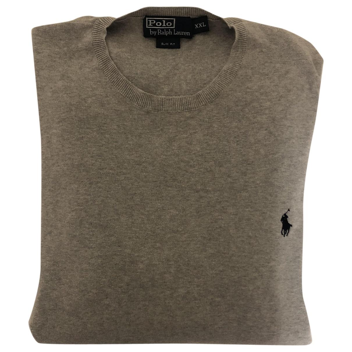Ralph Lauren \N Pullover.Westen.Sweatshirts  in  Khaki Baumwolle