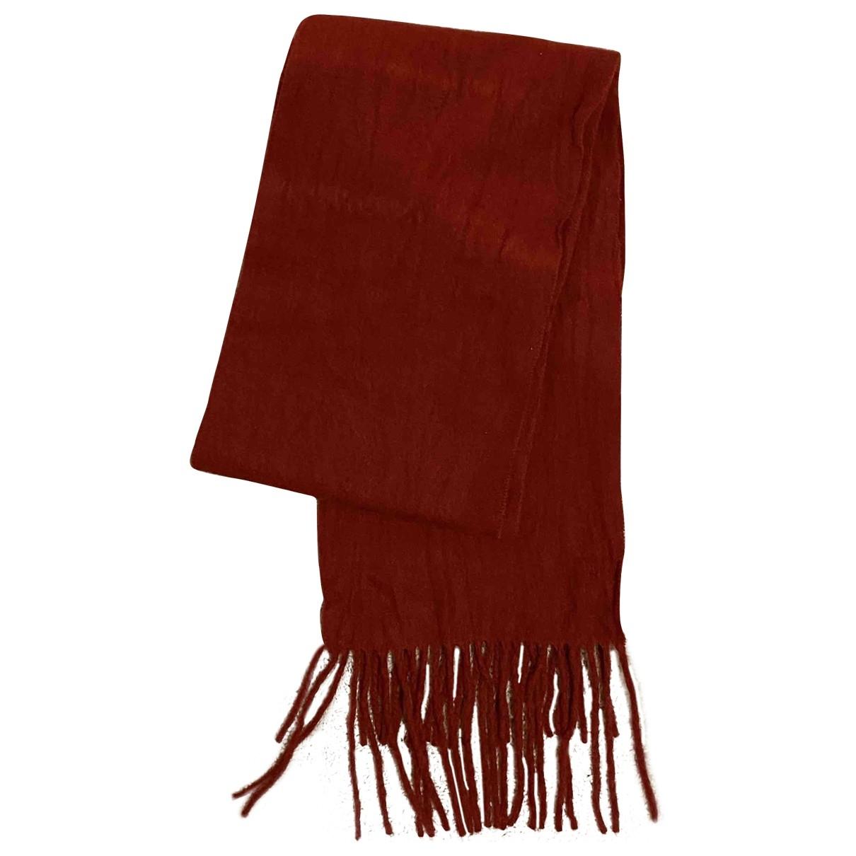 Acne Studios \N Red Wool scarf for Women \N