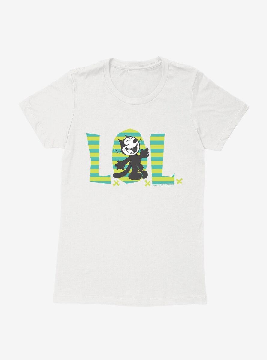 Felix The Cat LOL Womens T-Shirt