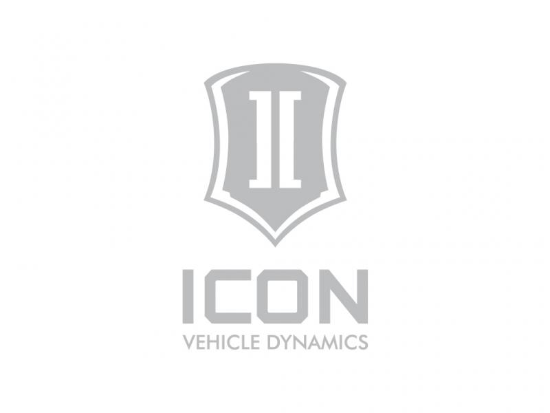 ICON Vehicle Dynamics 6 IN TALL ICON STACK SILVER