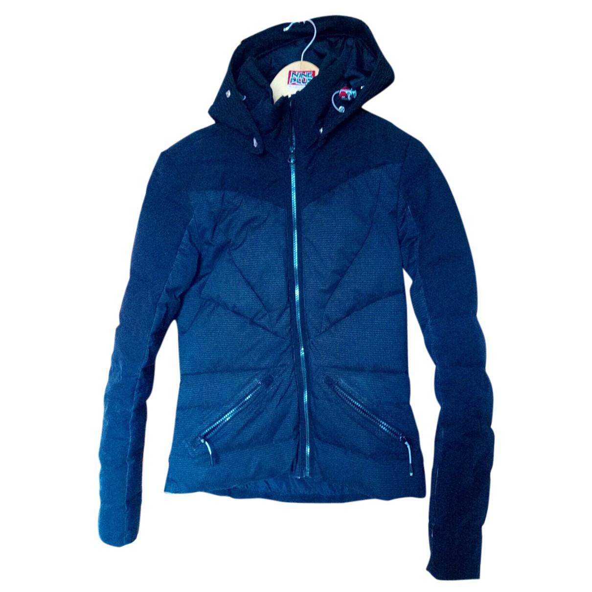 Vuarnet N Black Leather jacket for Women 34 FR