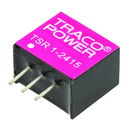TRACOPOWER Through Hole Switching Regulator, 1.5V dc Output Voltage, 4.6 → 36V dc Input Voltage, 1A Output