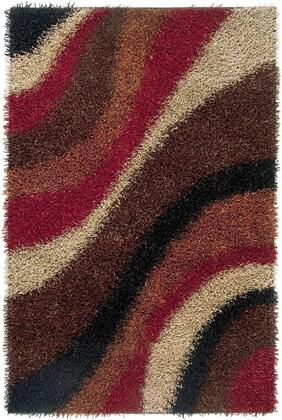 KNMKM232200540507 Kempton KM2322-5' x 7' Hand-Tufted 100% Polyester Rug in Multi  Rectangle