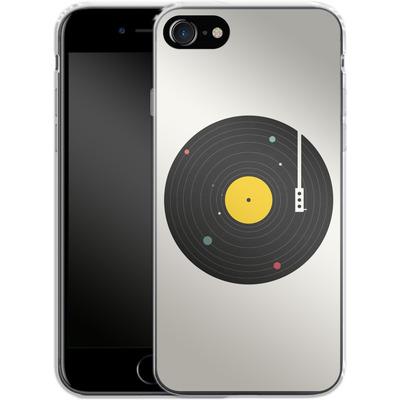 Apple iPhone 7 Silikon Handyhuelle - Music Everywhere von Florent Bodart
