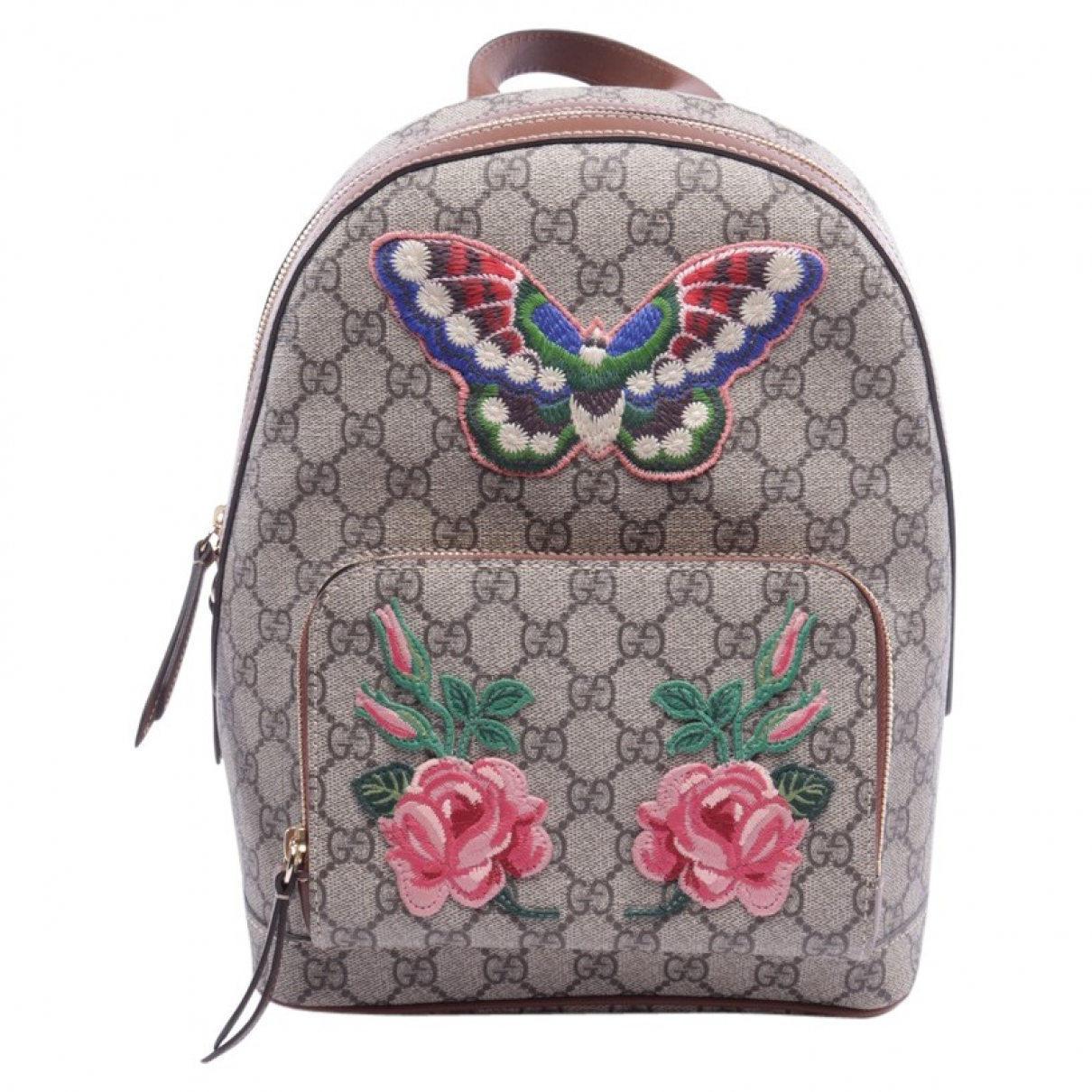 Gucci \N Multicolour Cotton backpack for Women \N