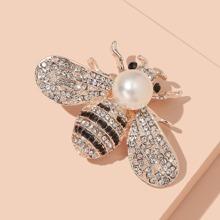Brosche mit Biene Design