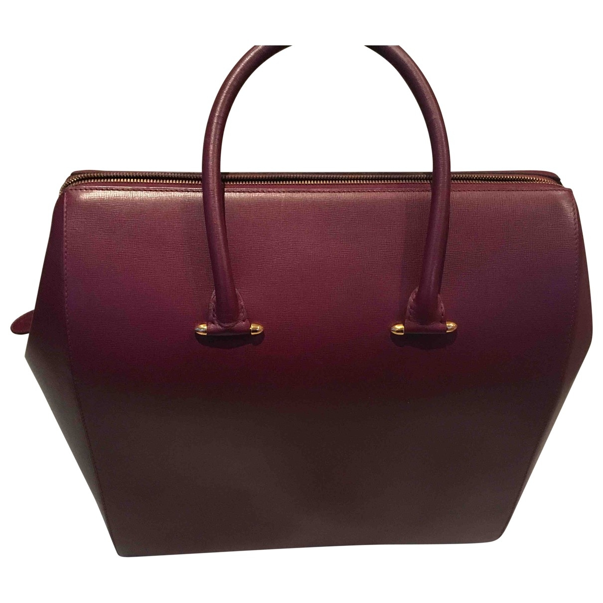 Cartier \N Burgundy Leather Travel bag for Women \N