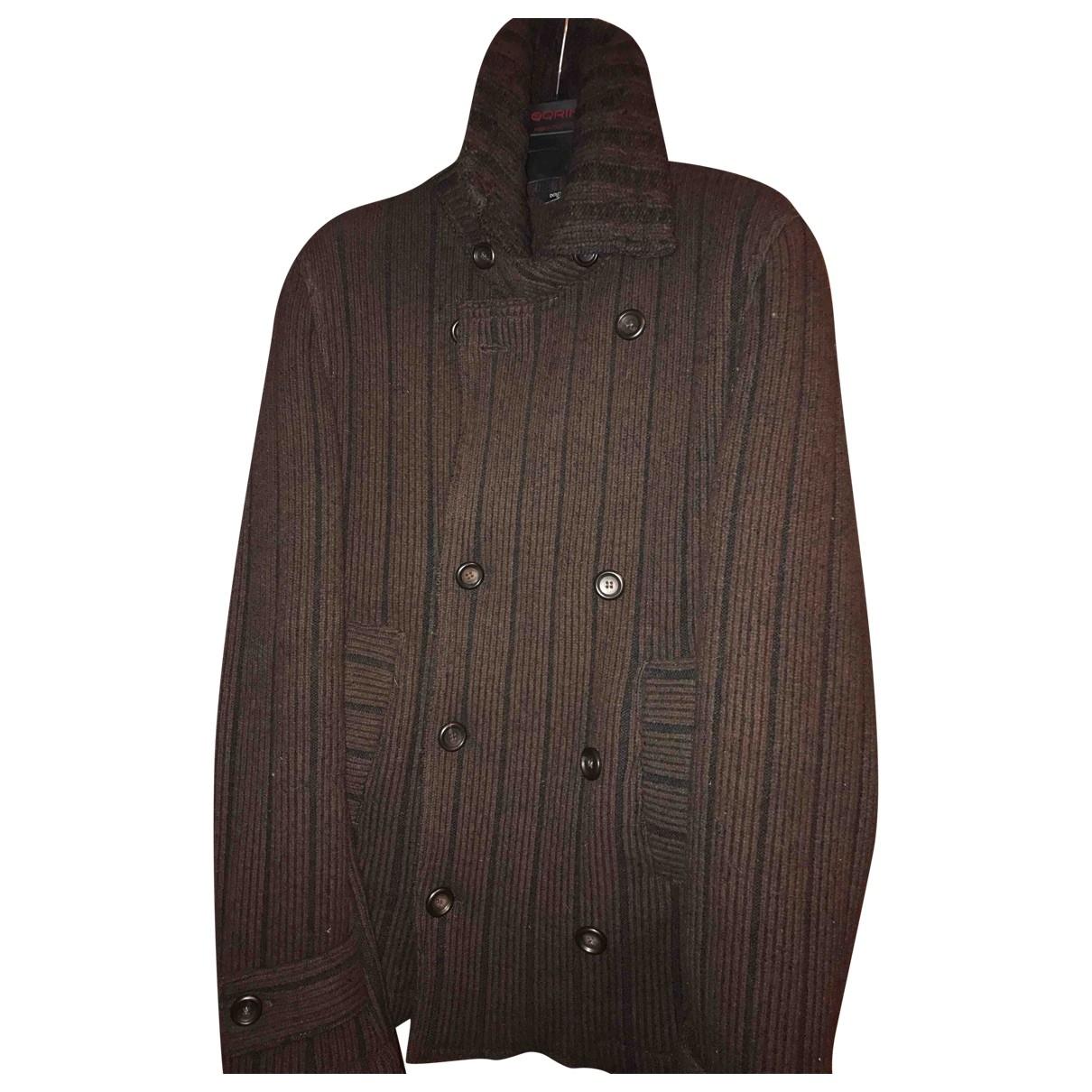 Dolce & Gabbana \N Burgundy Wool Knitwear & Sweatshirts for Men 44 IT