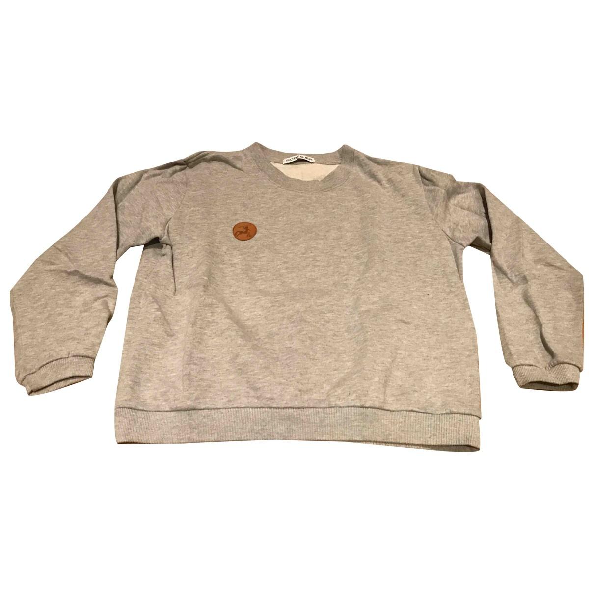Rodebjer - Pull   pour femme en coton - gris
