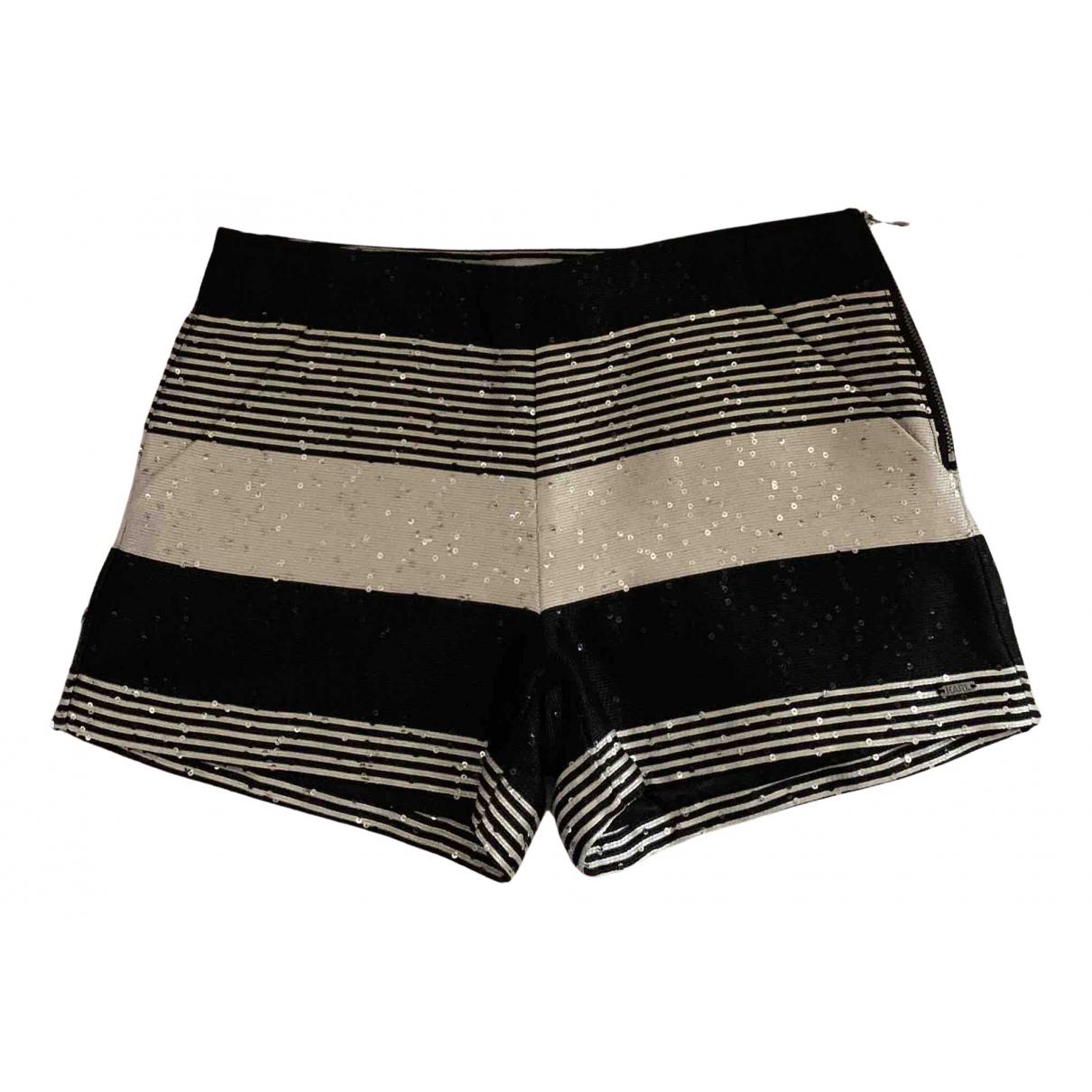 Karl Lagerfeld \N Shorts in  Schwarz Polyester