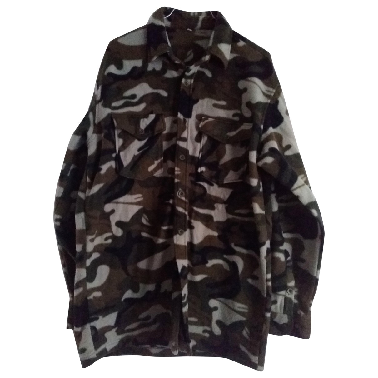 Non Signe / Unsigned Oversize Jacke in  Bunt Polyester