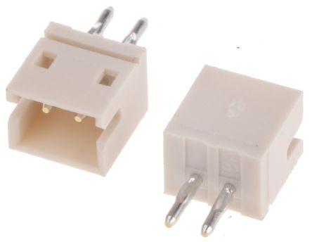 JST , ZH, 2 Way, 1 Row, Top Entry PCB Header (5)