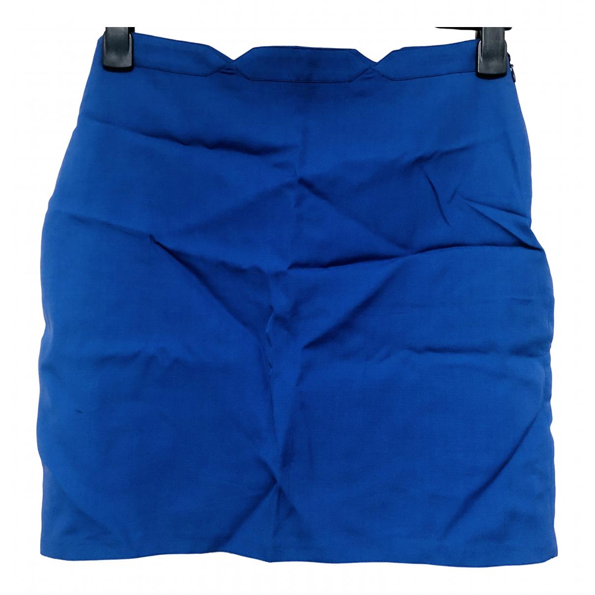 Versace Jeans \N Blue skirt for Women 42 IT