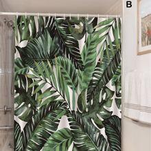 Duschvorhang mit tropischem Muster 1 Stueck