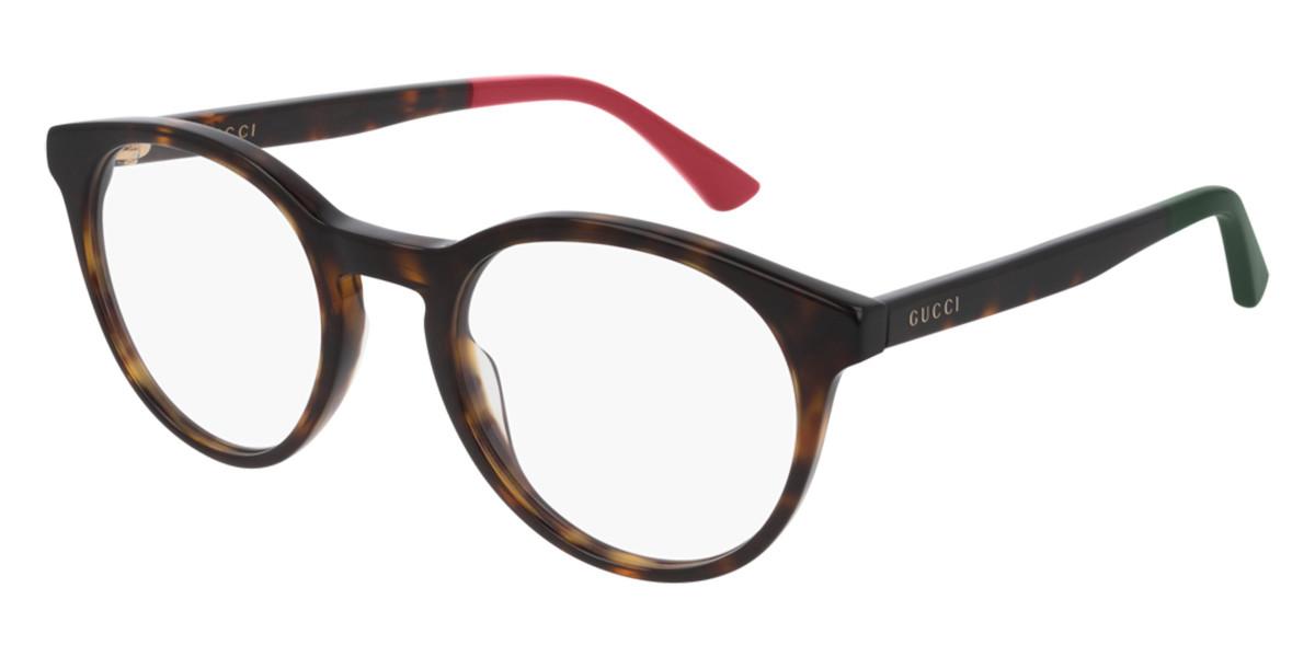 Gucci GG0406O 006 Mens Glasses Tortoise Size 50 - Free Lenses - HSA/FSA Insurance - Blue Light Block Available