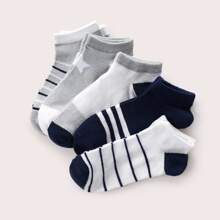 5 pares calcetines de niñitos con patron
