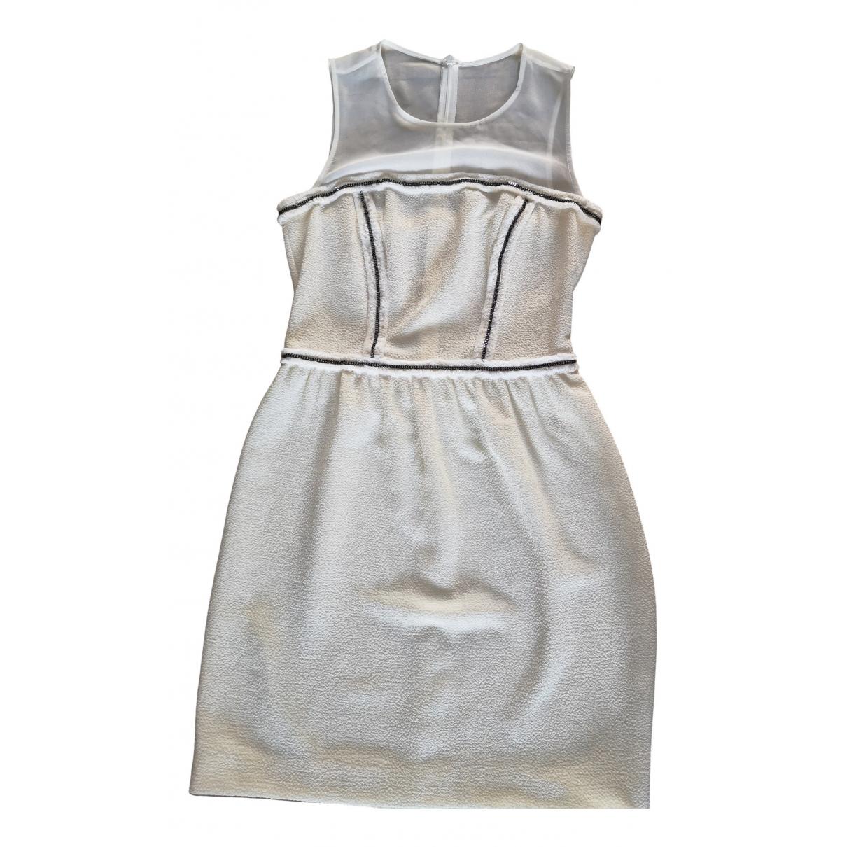 Sandro \N Ecru dress for Women 36 FR