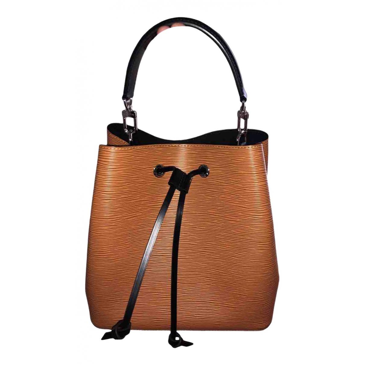 Louis Vuitton NéoNoé Camel Leather handbag for Women \N