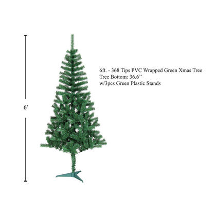Green Christmas Tree 6ft
