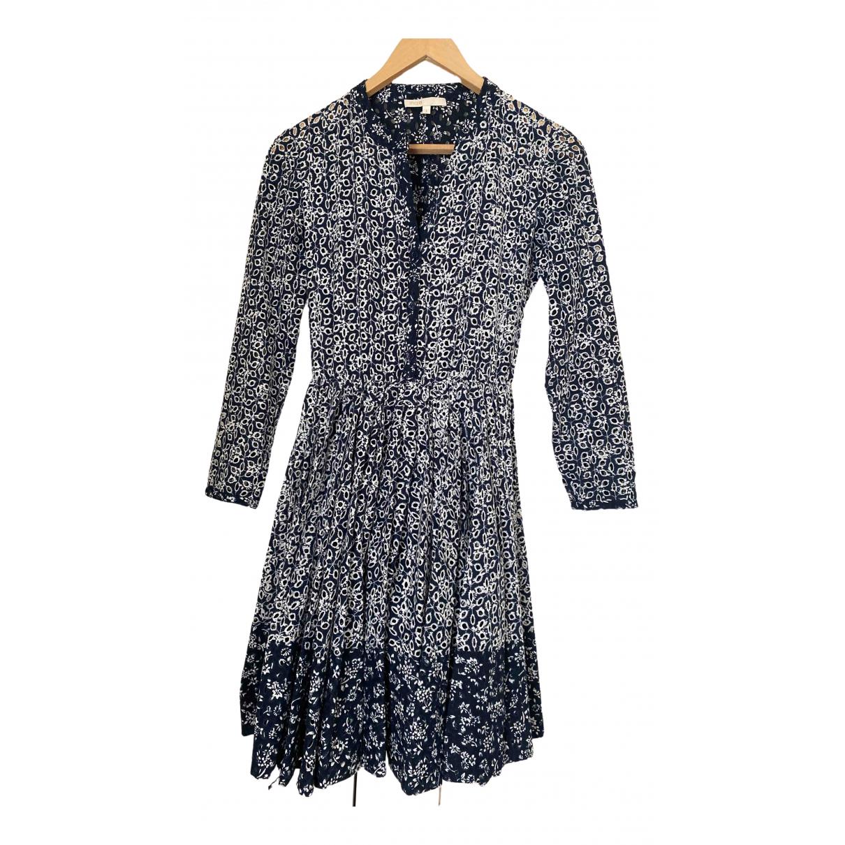 Maje \N Blue Cotton dress for Women 1 US