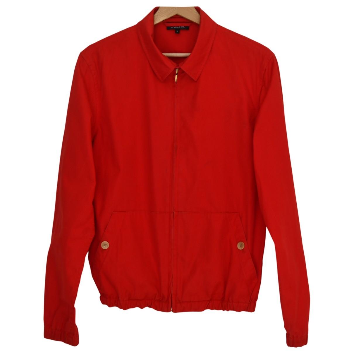Apc \N Jacke in  Rot Baumwolle
