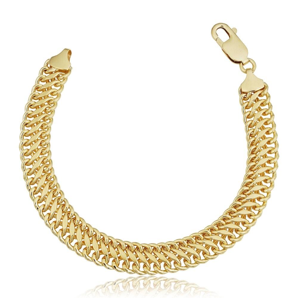 Gold Overlay Bracelets